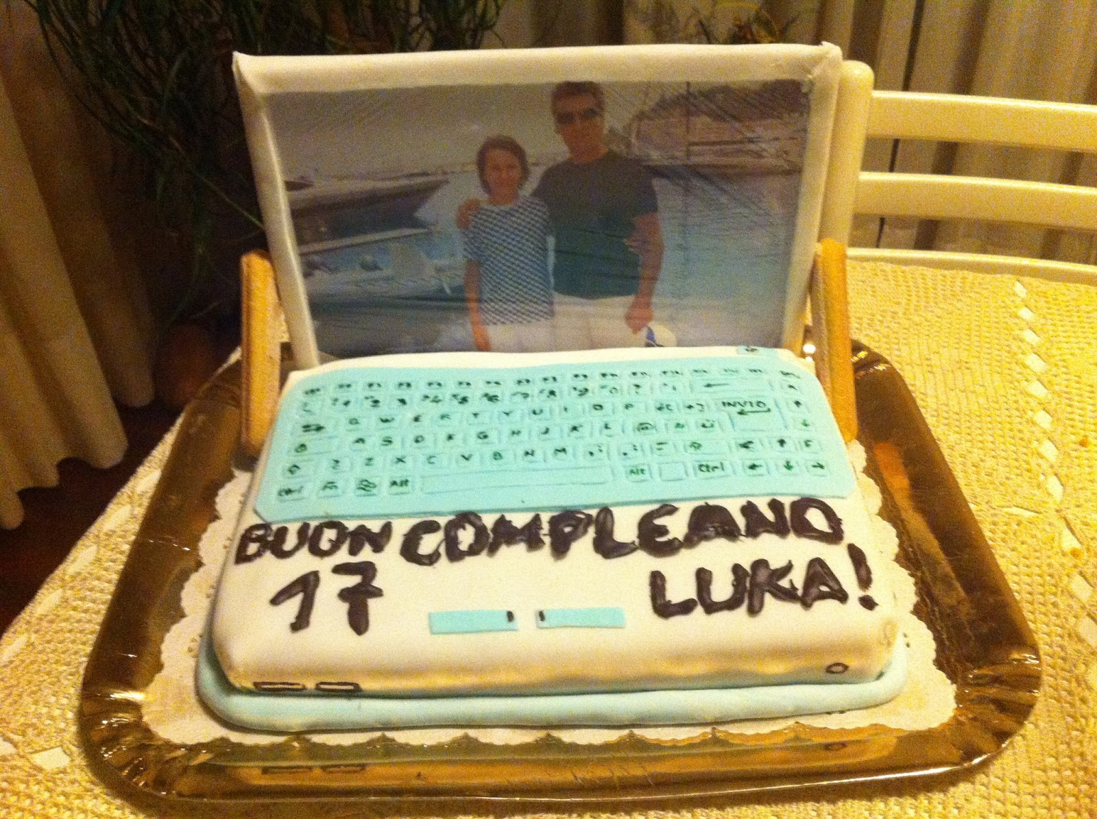 spesso Cucina con Kristina: Torta di compleanno computer XS11