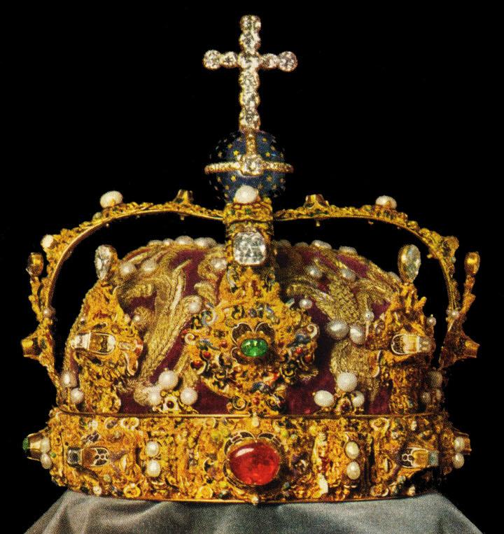 Το βασιλικό στέμμα της Σουηδίας, που φτιάχτηκε το 1561 για τη στέψη του Ερρίκου ΙΔ΄ της Σουηδίας