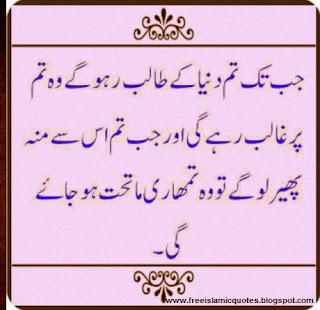 most amazing islamic quotes in urdu