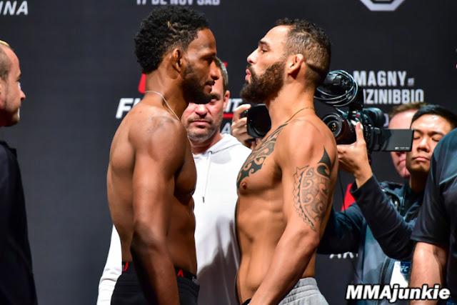 Neil Magny and Santiago Ponzinibbio UFC Argentina