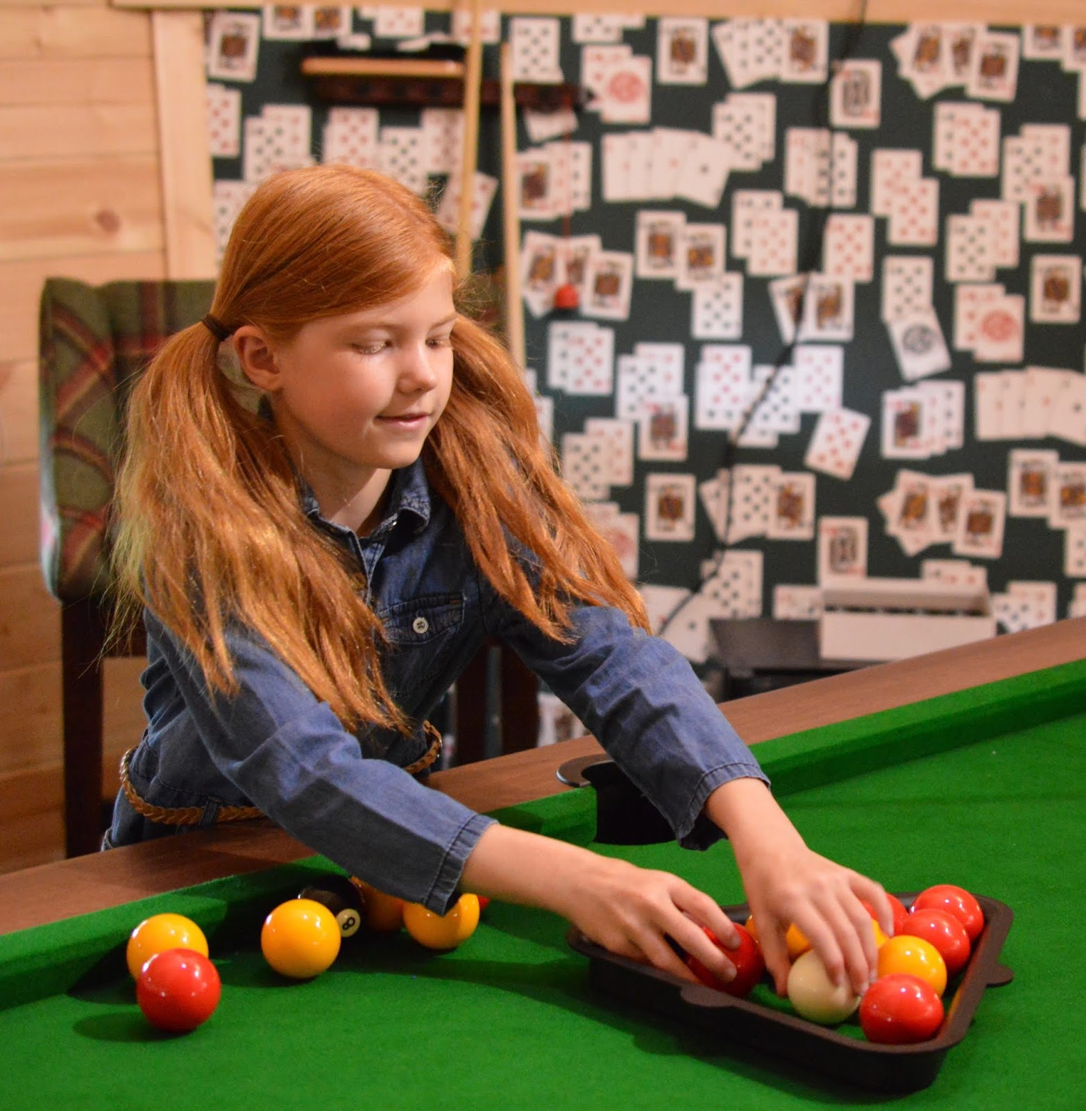 A Luxury Family Staycation at Rockliffe Hall Hotel  - mischmasch pool table