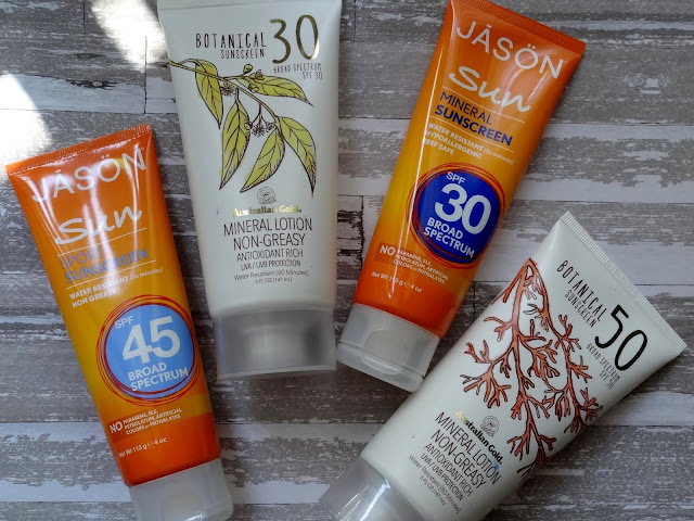 Australian Gold SPF 30 and 50 Botanical Sunscreens