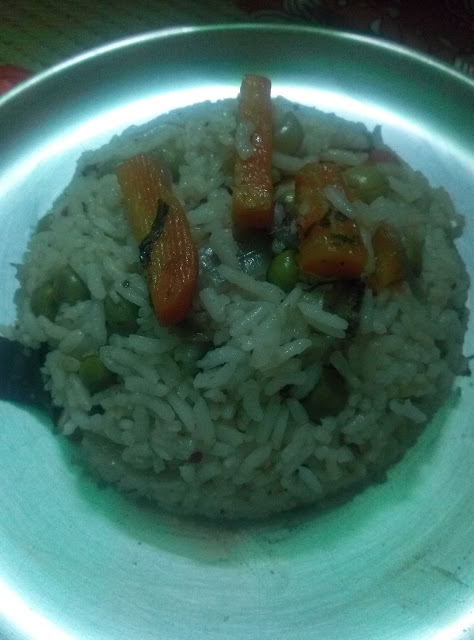 pulav recipe of Indian Food