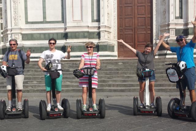 Tour de Segway em Florença