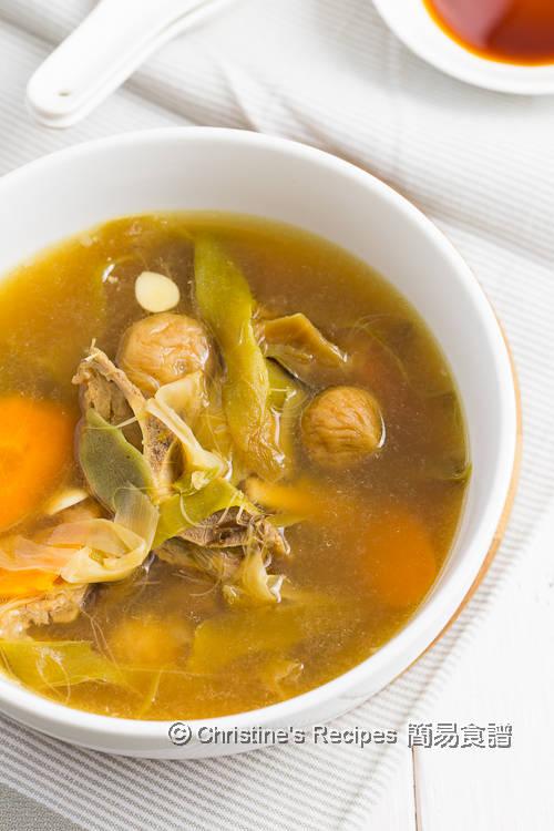 霸王花無花果排骨湯 Night Blooming Cereus Soup with Pork Ribs02