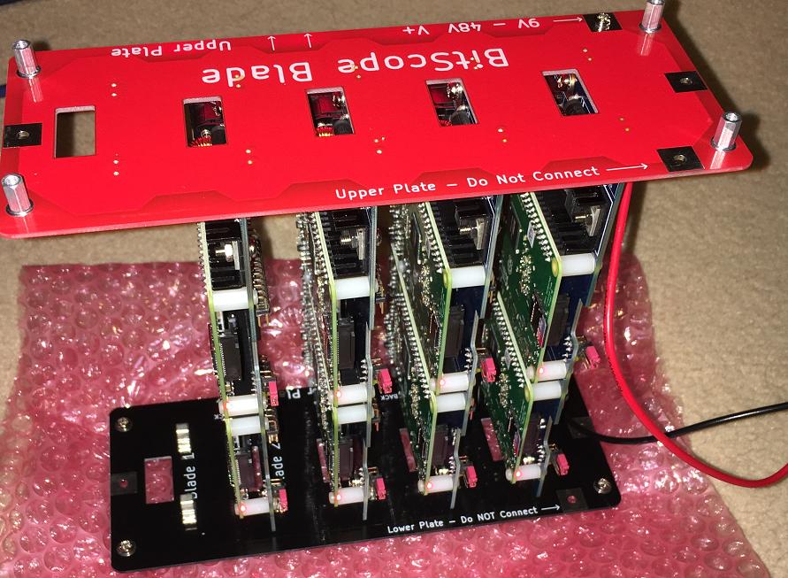 Marks Rpi Cluster: BitScope Blade Rack 20 build (part 2)