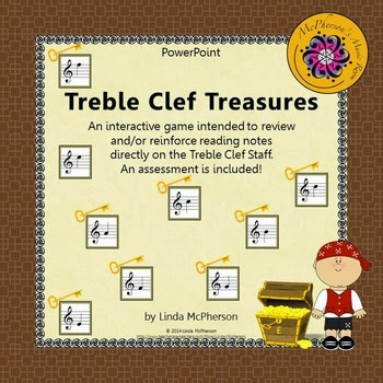 http://www.teacherspayteachers.com/Product/Treble-Clef-Treasures-Interactive-Music-Game-Assessment-1254689
