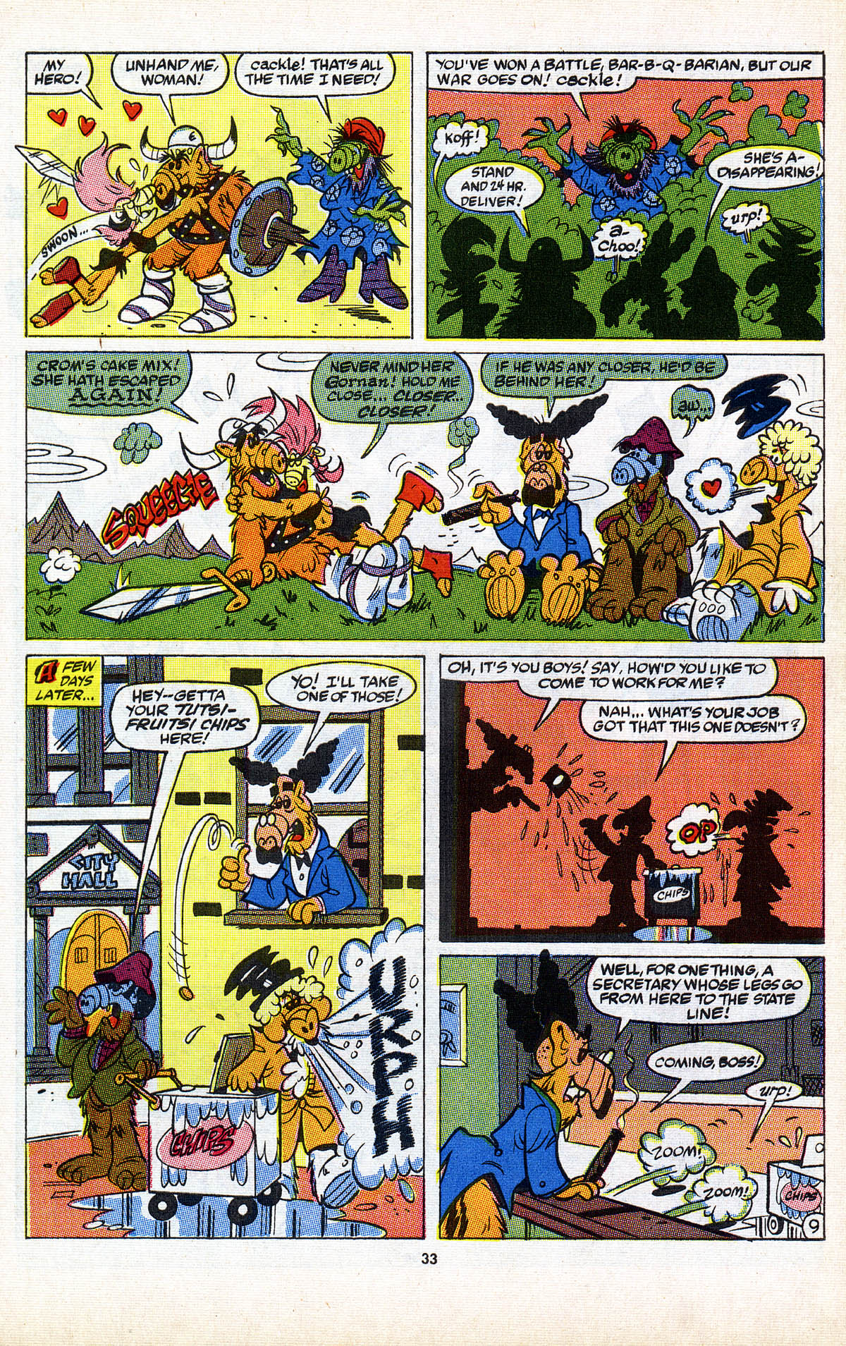 Read online ALF comic -  Issue #2 - 34