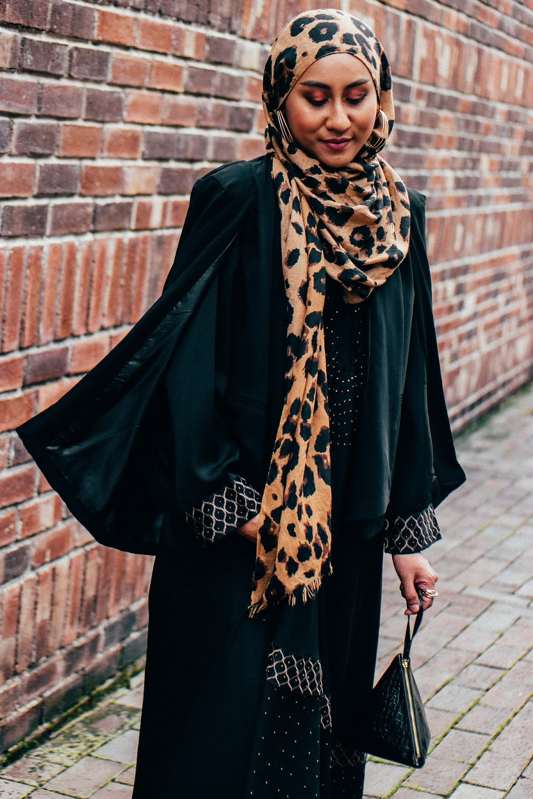 Forever 21 Black Cape Blazer