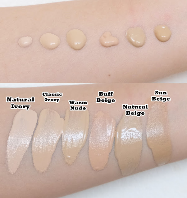 a swatch photo of Maybelline Superstay Full Coverage Foundation Review by Nikki Tiu of www.askmewhats.com
