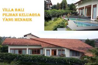 Villa Istana Bunga Di Lembang Bandung Fasilitas Kolam Renang