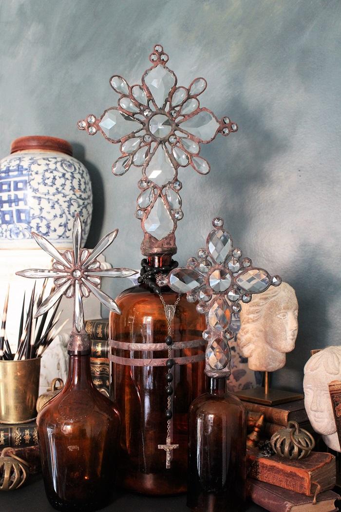 vintage cross bottles