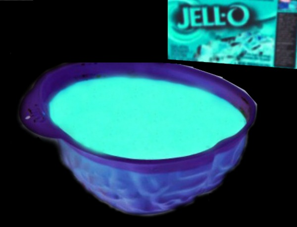 For a dessert that is sure to win the Halloween party give these glowing jello brains a try!