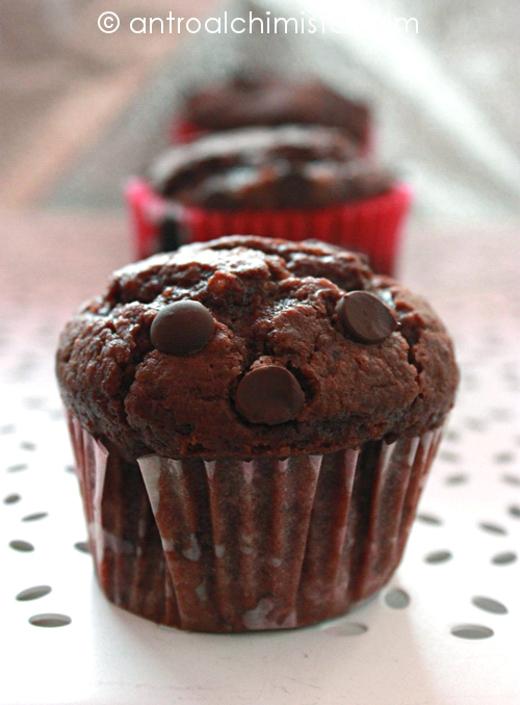 Tortine quasi Muffins al Cioccolato