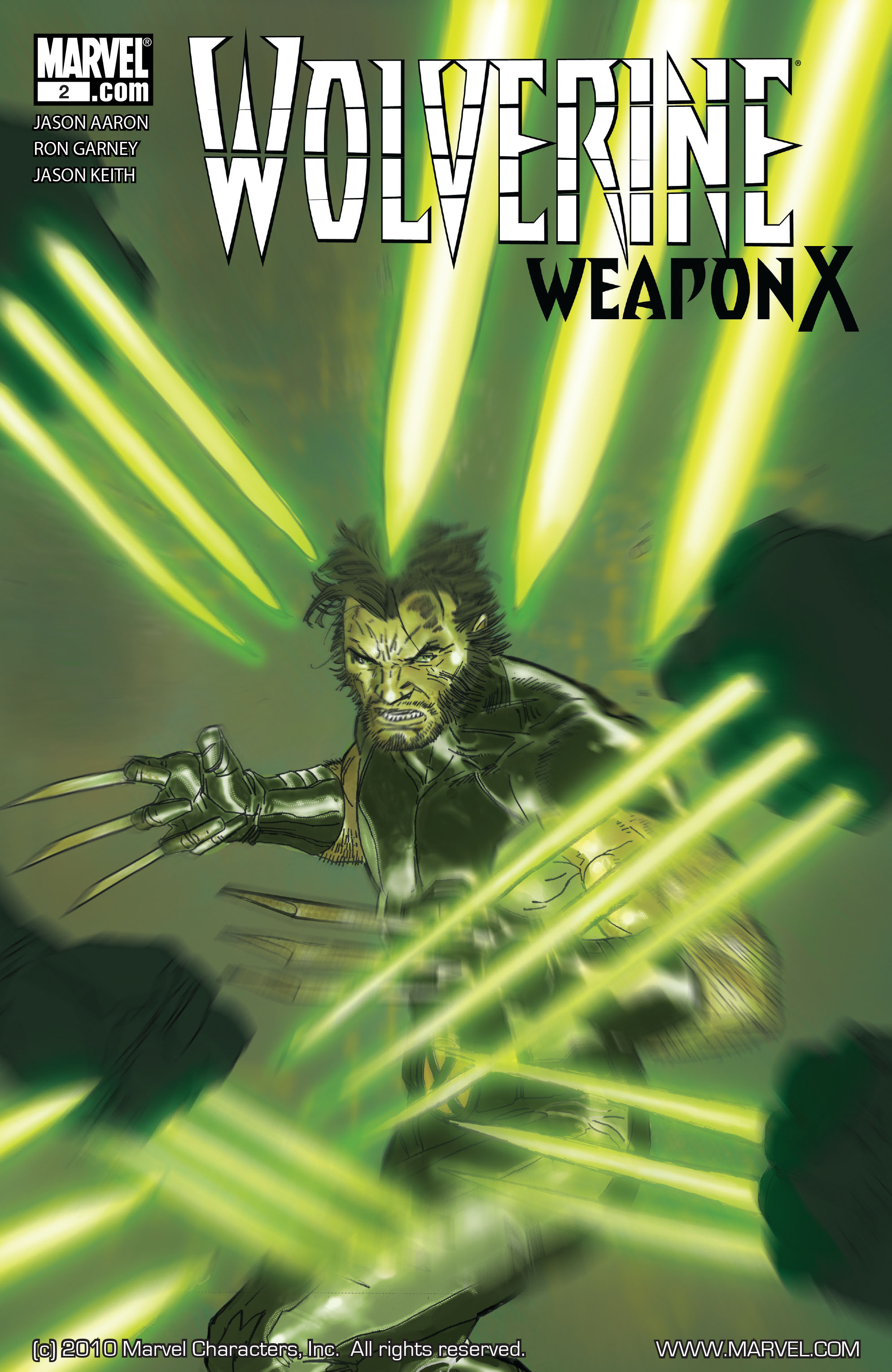Read online Wolverine: Weapon X comic -  Issue #2 - 1