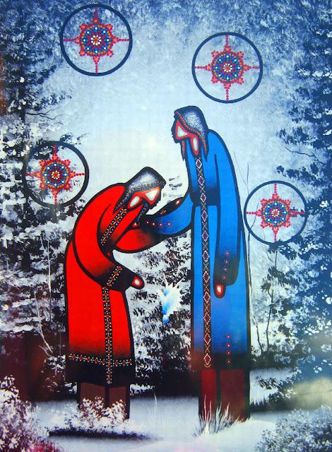 Leland Bell Ojibwe Medicine painter
