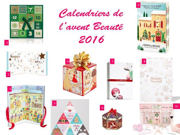 10 calendriers de l'avent beauté à shopper sans attendre !