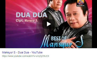 Download Lagu Mansyur S Dua Dua Mp3 Gratis