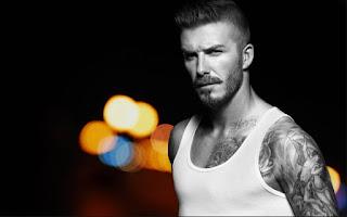 David Beckham, pemain bola terganteng