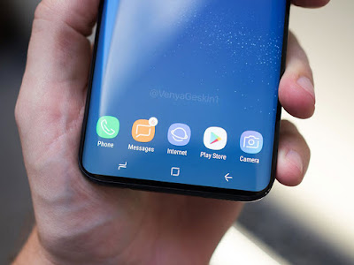 Hình ảnh trên tay Samsung S9 gây sốt cộng đồng mạng - 214006