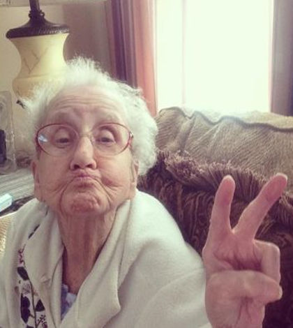 Betty Simpson, la abuelita de Instagram
