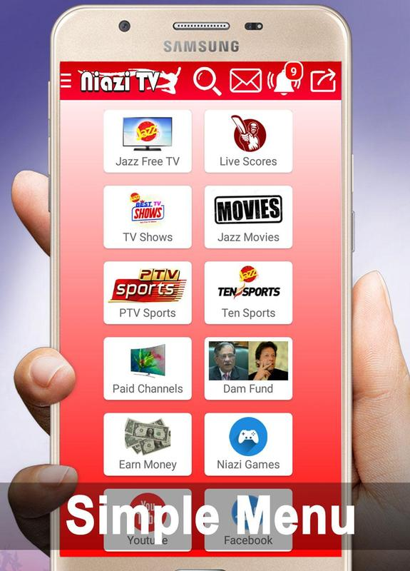 Niazi Tv Android Mobile TV Apps - All Tv Channels free watch - Apps