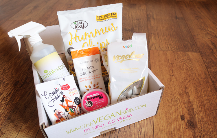 The Vegan Kind Lifestyle Box - April 2016 review #TVK30