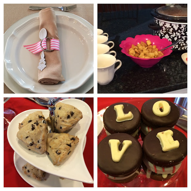 valentine day tea party menu lifestyle blogger fashion after 40