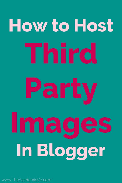 Do you not want to pay for third party image hosting? No worries! Here you will learn to host host third party images in Blogger. It's easy and free to do. This is a great tip for anyone wanting to save some money and use a blogging platform they're comfortable with. Video and written directions both available.