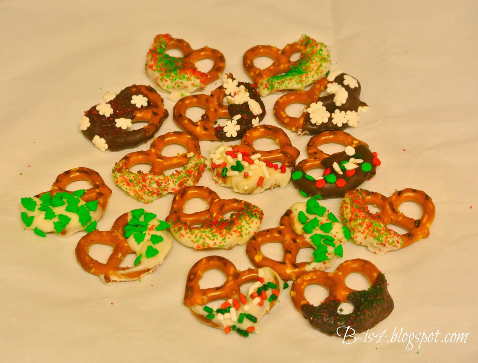Pretzels, holiday gifts