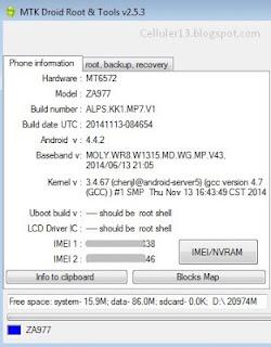 Download Firmware ZYREX ZA977 StockRom - Mengatasi Bootloop