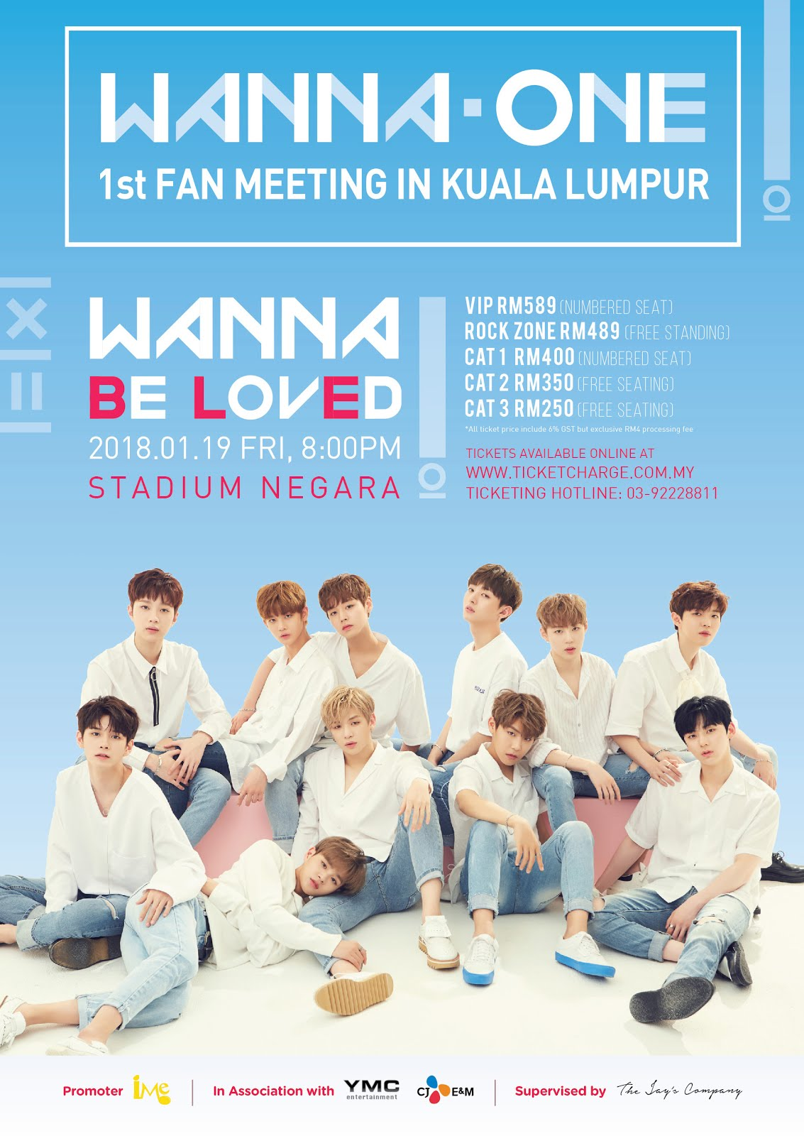 Gokpop malaysia awesome fan benefits meet greet autographed cd awesome fan benefits meet greet autographed cd poster exclusive selfie polaroid at wanna one 1st fan meeting in kl wanna be loved m4hsunfo