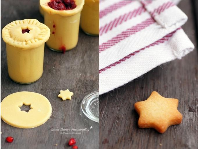 Pie im Weckglas oder Pomegranate Pie in a Jar