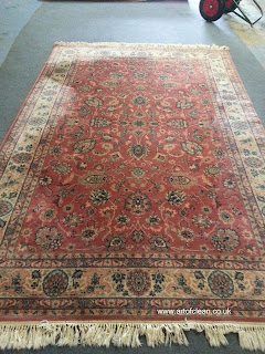 Art of Clean, pile reversal on rugs