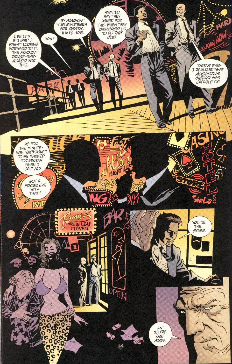 Read online 100 Bullets comic -  Issue #24 - 16
