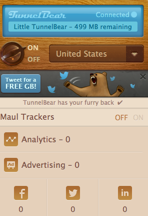 Hope's Cafe: Safe Internet Browsing with TunnelBear
