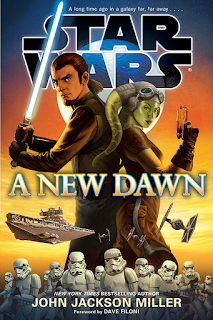 artwork Star Wars book A New Dawn John Jackson Miller