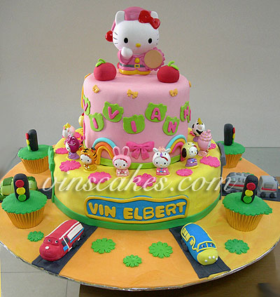 Prime Vins Cakes Birthday Cake Cupcake Wedding Cupcake Bandung Funny Birthday Cards Online Overcheapnameinfo
