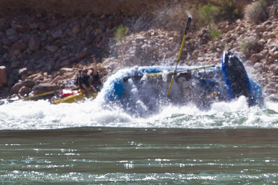 team junk show, showing us why 209 is a more then worthy rapid, colorado river, grand canyon, Chris Baer