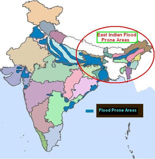 Indian Flood Zone Map