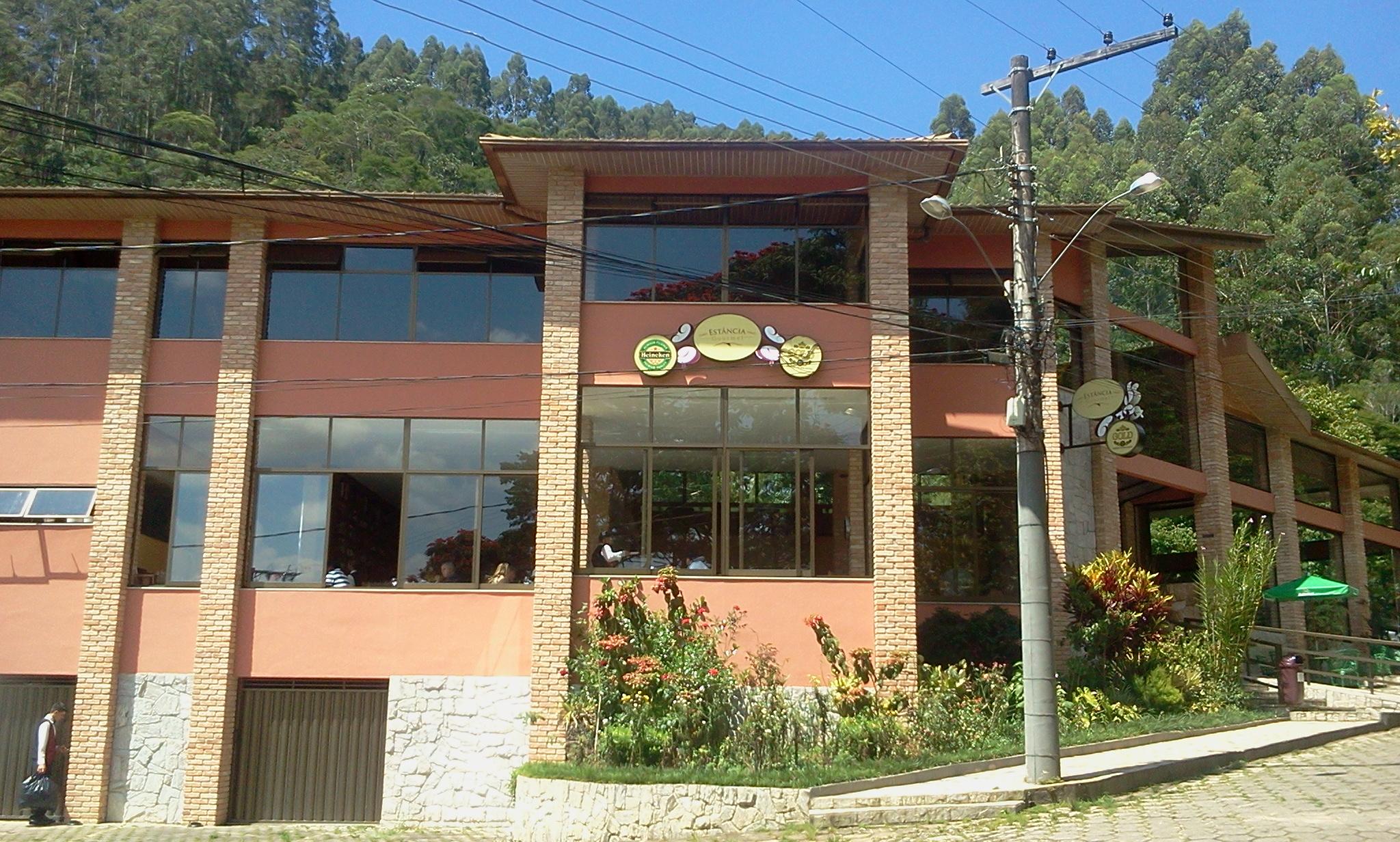Restaurante no Alto do Caparaó