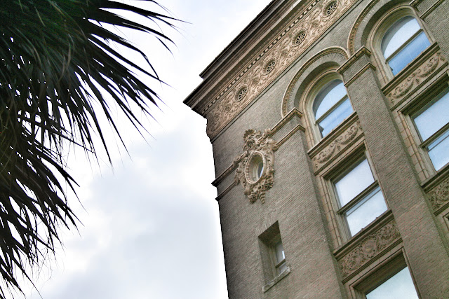 Beautiful architectural details in Savannah, GA | The Lowcountry Lady
