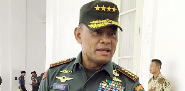 Diberitakan Dukung Ahok, Panglima TNI Korban Hoax