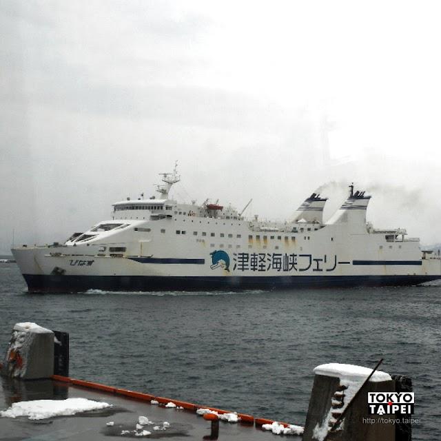 【津輕海峽渡輪】從青森搭船到函館 體驗津輕海峽冬景色