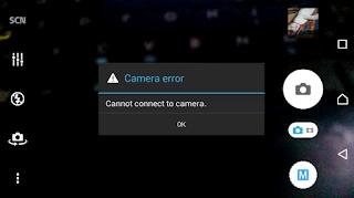 cara mengatasi kamera tidak terhubung di android