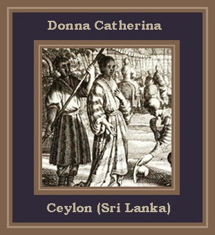 Image result for donna catherina of srilanka