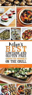 Kalyn's BEST Low-Carb and Gluten-Free Recipes for Vegetables on the Grill found on KalynsKitchen.com