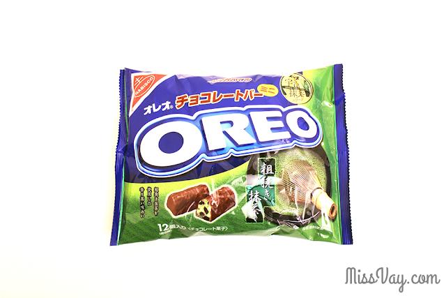 Mini barres Oreo - chocolat et thé vert