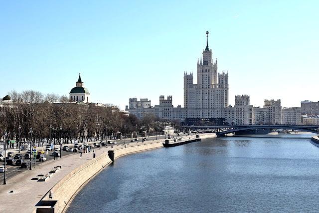 As setes irmãs de Stalin em Moscou, Russia.