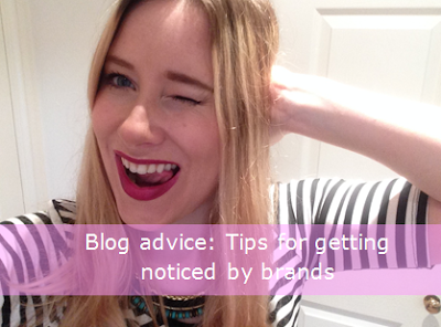 Tips for making you tick all the boxes for a brand, from an insider and fellow blogger, head over to http://www.emmasblog.co.uk/2015/12/BlogAdviceTipsGettingNoticedbyBrands.html